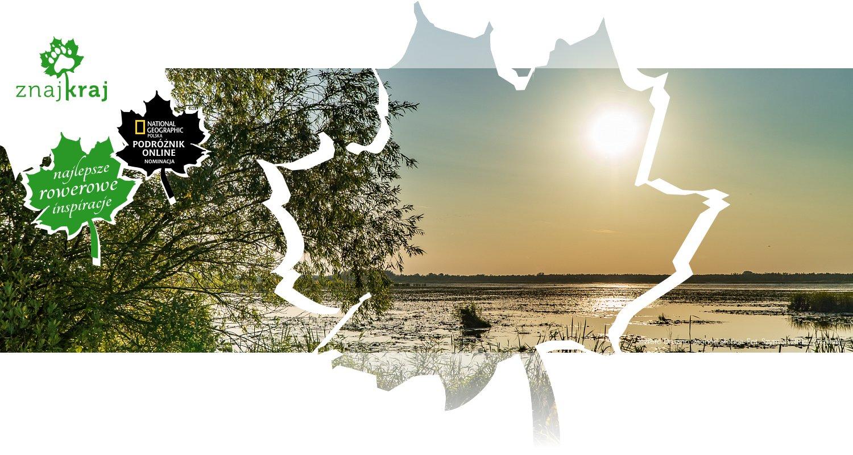 Jezioro Druzno, zachód Słońca