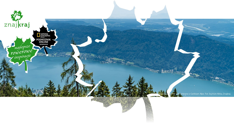 Jezioro Ossiacher See widziane z Gerlitzen Alpe