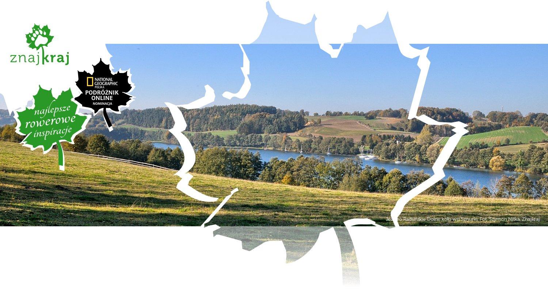 Jezioro Raduńskie Dolne koło wsi Sznurki
