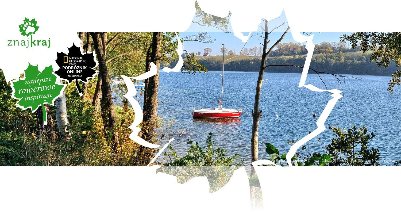 Jezioro Raduńskie Dolne w Chmieleńskich Chróstach