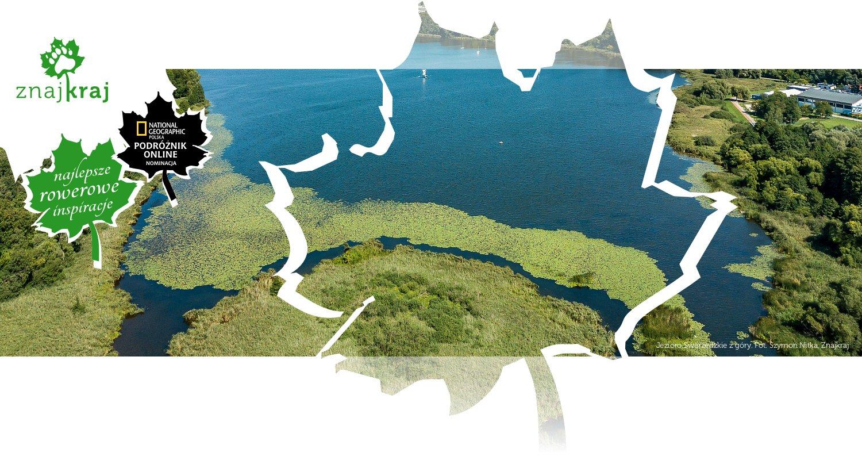 Jezioro Swarzędzkie z góry