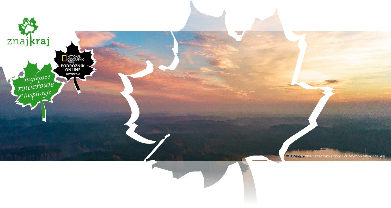 Jezioro Wielkie Partęczyny z góry