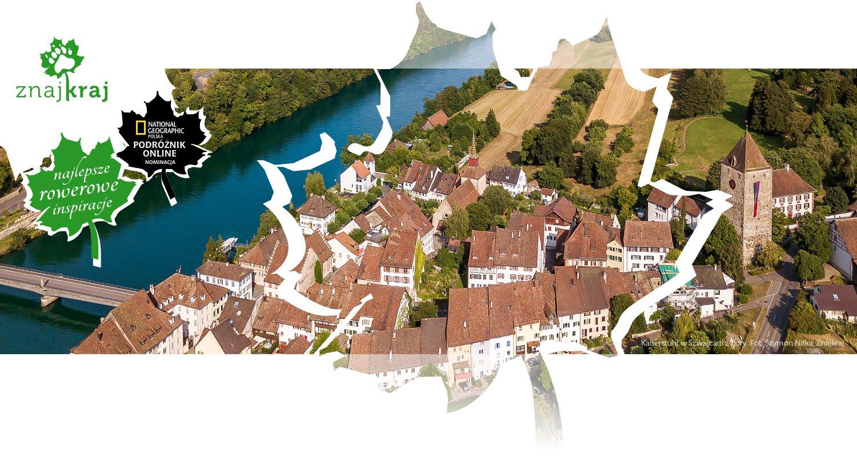 Kaiserstuhl w Szwajcarii z góry