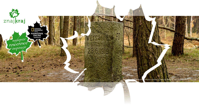 Kamień graniczny Wolnego Miasta Gdańska na Mierzei Wiślanej