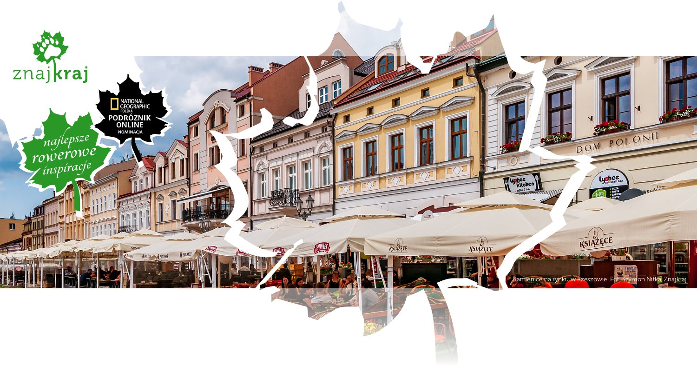 Kamienice na rynku w Rzeszowie