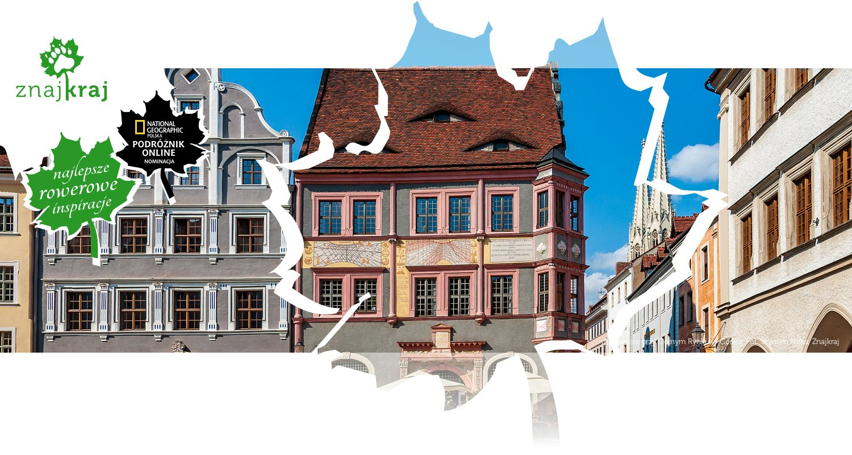 Kamienice przy Dolnym Rynku w Görlitz