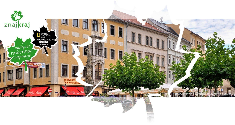 Kamienice przy rynku w Żytawie