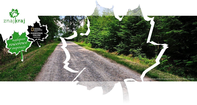 Kamienista nawierzchnia szlaku rowerowego