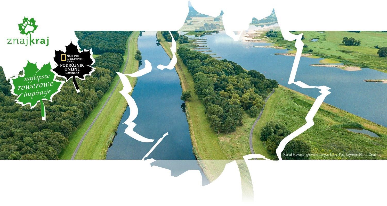 Kanał Haweli i główne koryto Łaby