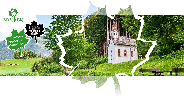 Kaplica przy szlaku w Południowym Tyrolu