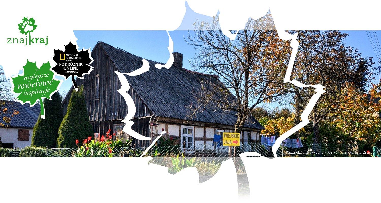 Kaszubska chata w Sznurkach