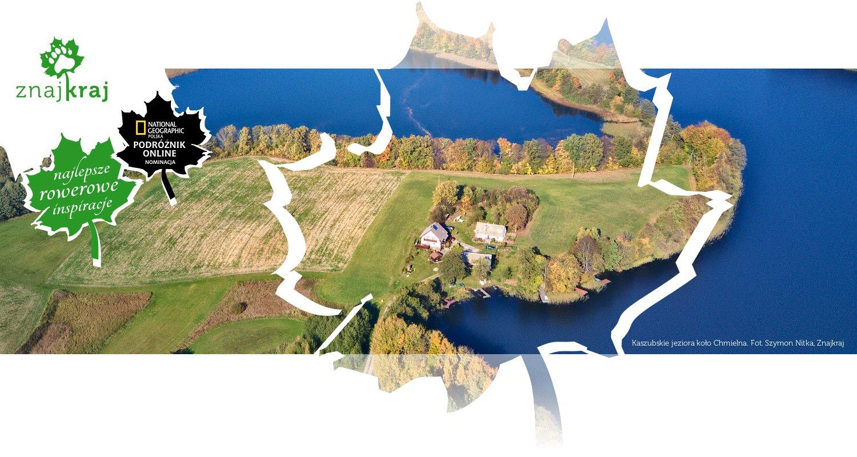 Kaszubskie jeziora koło Chmielna
