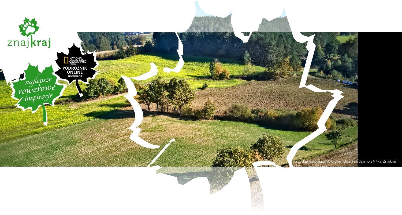 Kaszubskie krajobrazy koło Chmielna