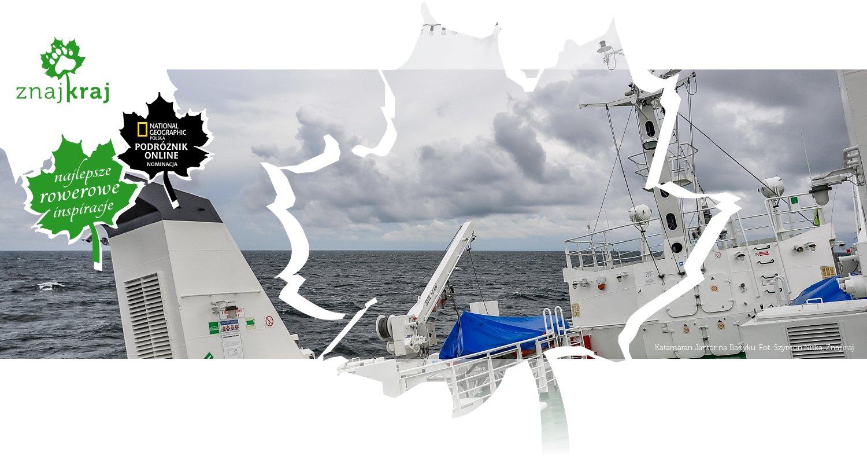 Katamaran Jantar na Bałtyku
