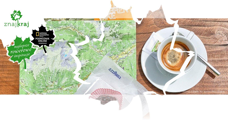 Kawa, ciastko i Dolomiti di Brenta