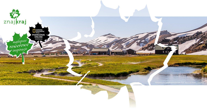 Kemping w Landmannalaugar