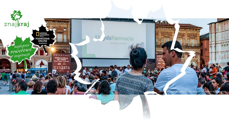 Kino na świeżym powietrzu w sercu Bolonii