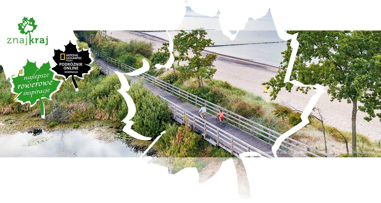 Kładka rowerowa przy Solnym Bagnie - EuroVelo 10