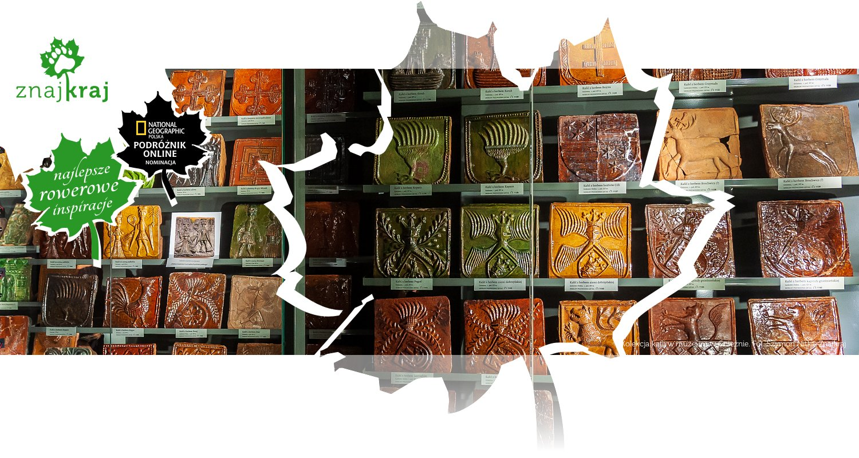 Kolekcja kafli w muzeum w Gnieźnie