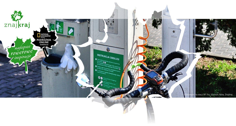 Kompresor na stacji BP