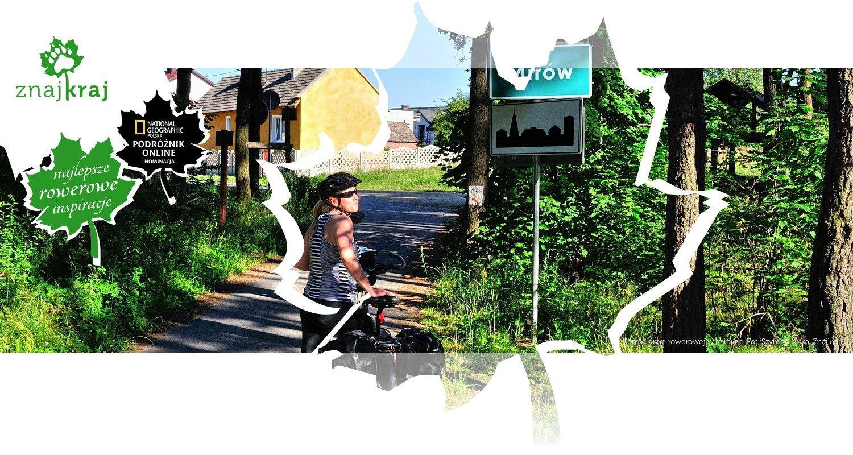 Koniec drogi rowerowej w Mirowie