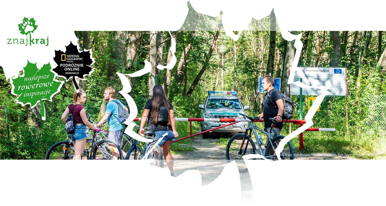 Koniec trasy rowerowej Mierzei Wiślanej