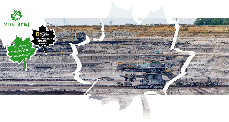 Kopalnia odkrywkowa węgla brunatnego w Saksonii