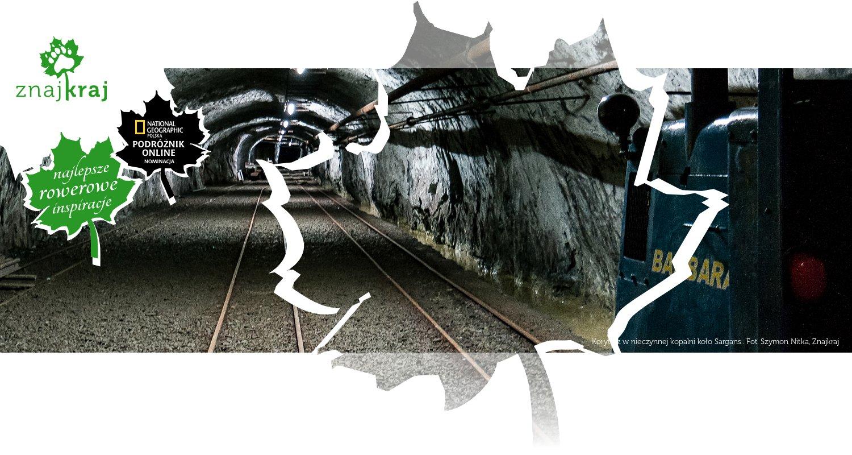 Korytarz w nieczynnej kopalni koło Sargans