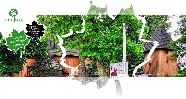 Kościół na Szlaku Architektury Drewnianej w Grabiu