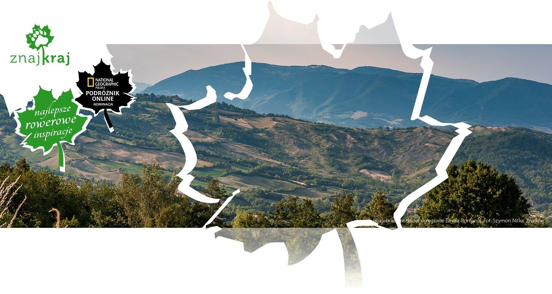 Krajobraz Apeninów w regionie Emilia-Romania