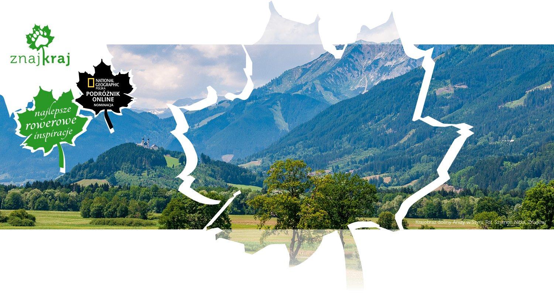 Krajobraz doliny Anizy w Styrii