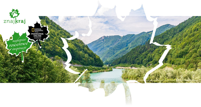 Krajobraz doliny rzeki Enns w Górnej Austrii