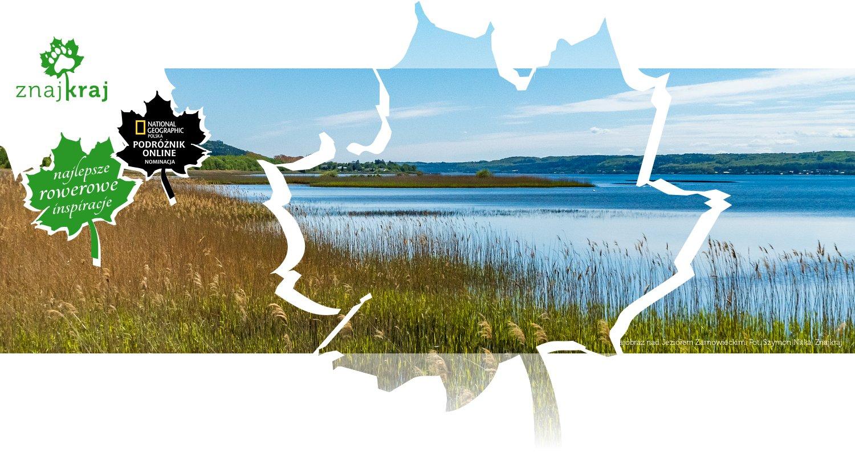 Krajobraz nad Jeziorem Żarnowieckim
