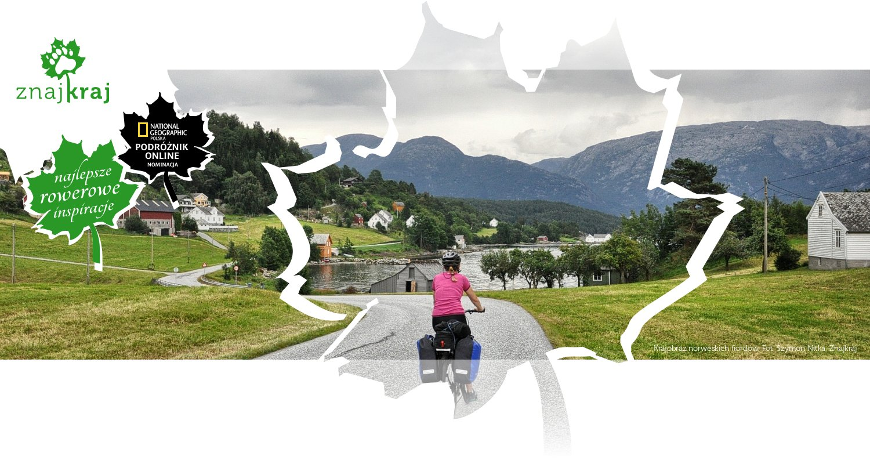 Krajobraz norweskich fiordów