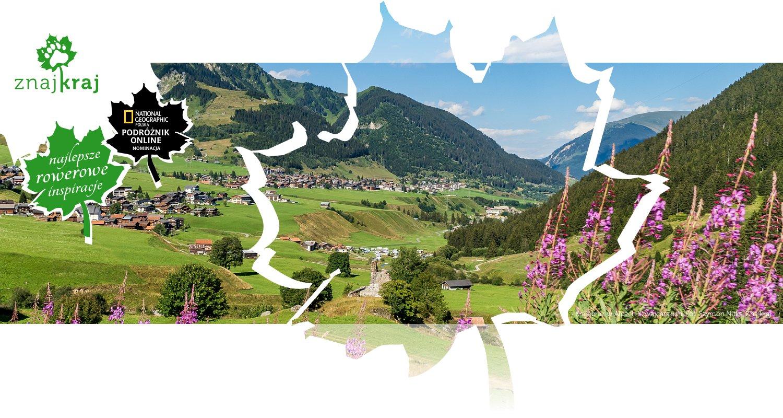 Krajobraz w Alpach Szwajcarskich
