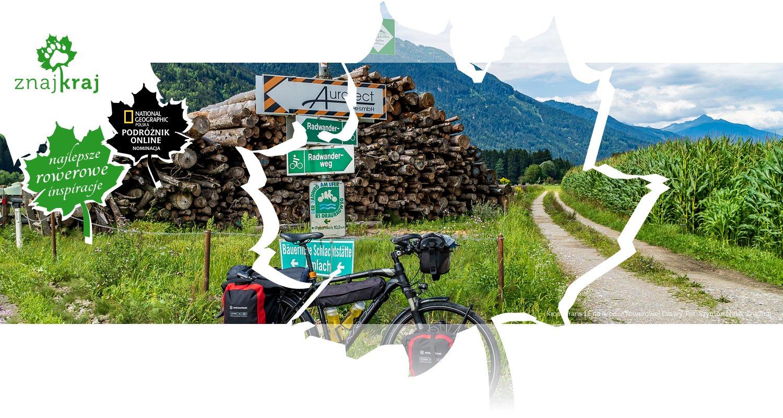 Kross Trans 11 na drodze rowerowej Drawy