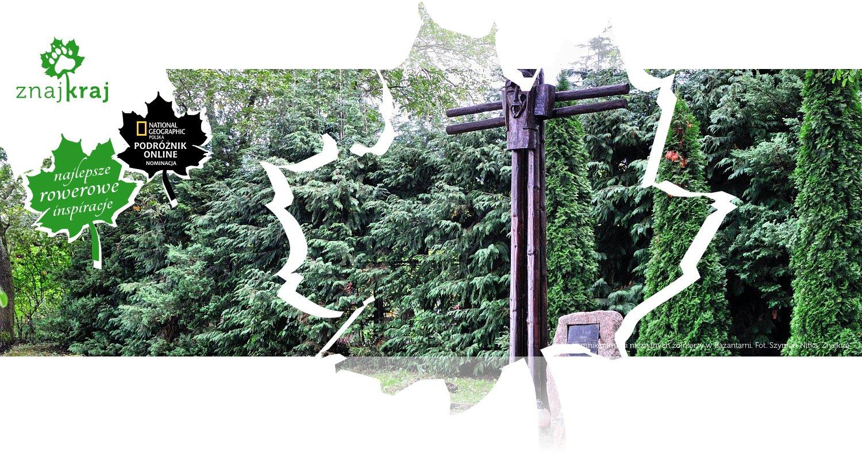 Krzyż i pomnik pamięci nieznanych żołnierzy w Bażantarni