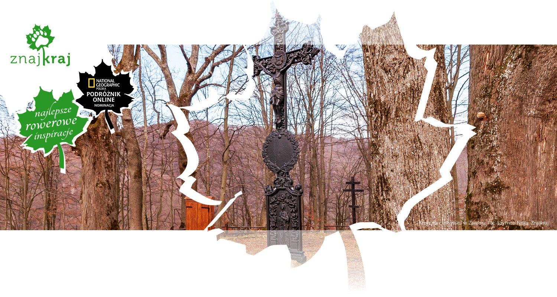 Krzyż na cerkwisku w Zawoju