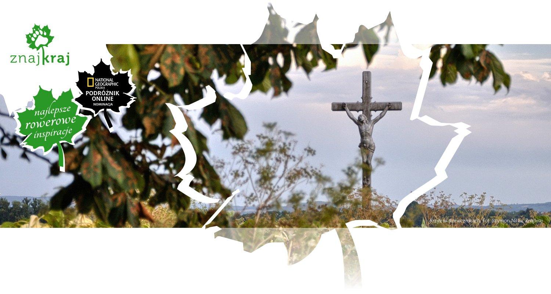Krzyż w słonecznikach