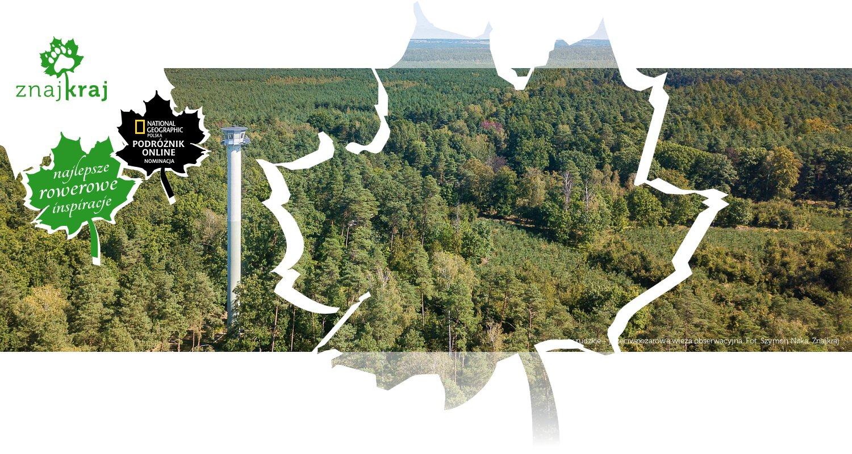 Lasy rudzkie - przeciwpożarowa wieża obserwacyjna