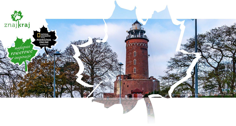 Latarnia morska i Fort Ujście w Kołobrzegu