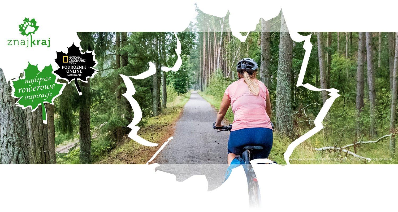 Leśna droga rowerowa koło Kołobrzegu
