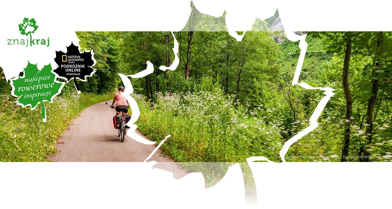 Leśna ścieżka rowerowa w Górnej Austrii