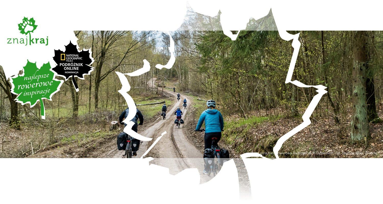 Leśna trasa rowerowa na Wzgórzach Dylewskich