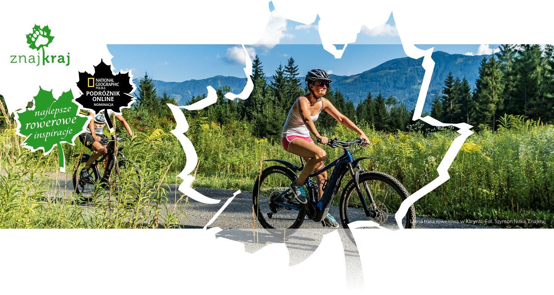 Leśna trasa rowerowa w Karyntii