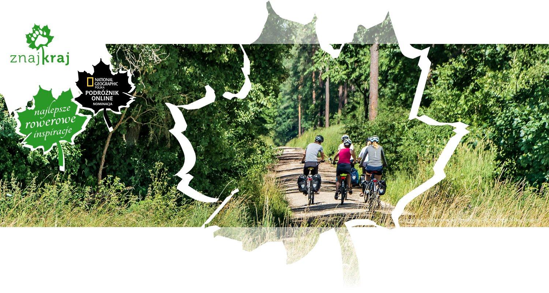 Leśna trasa rowerowa we Frankonii