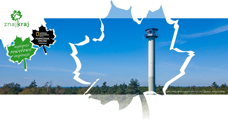 Leśna wieża obserwacyjna koło Rud