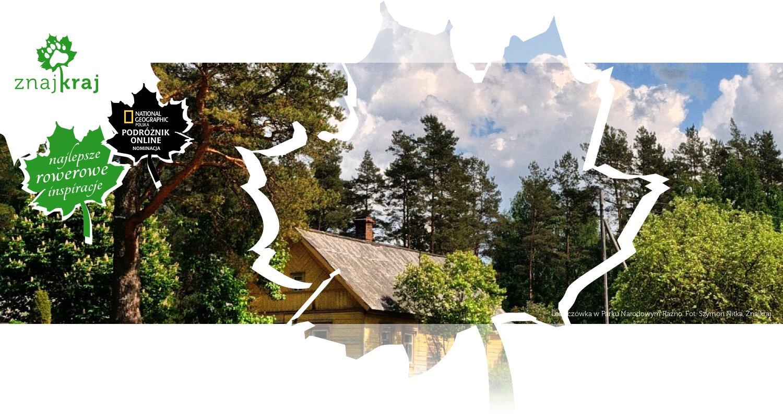 Leśniczówka w Parku Narodowym Raźno