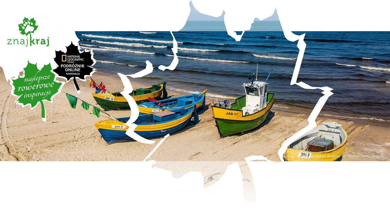Łodzie rybackie na Mierzei Wiślanej
