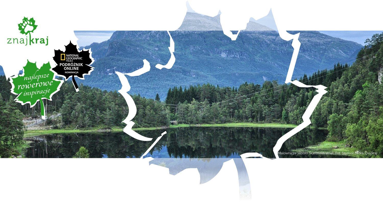 Malownicze jezioro Skjelbreidvatnet